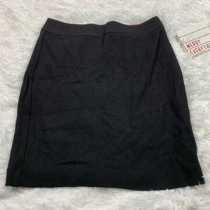 Banana Republic Black Wool Skirt
